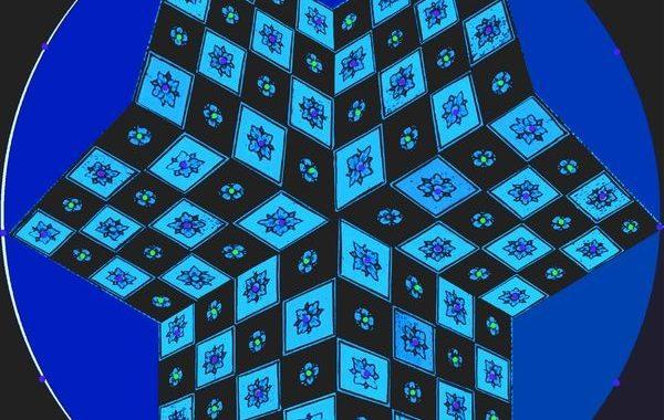 Echec 3 Pers bleu